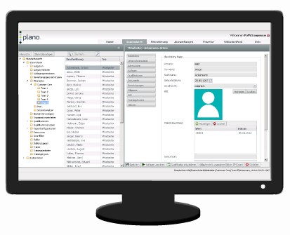 Software für Personalentwicklung und Personaleinsatzplanung - digitale E-Personalakte