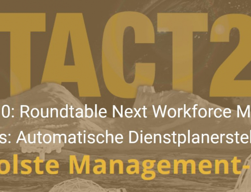 #NextAct2020: Next Workforce Management