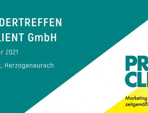 21. Anwendertreffen der PRO CLIENT GmbH
